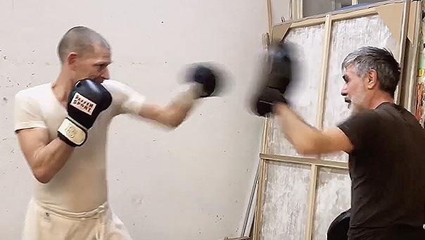 Boxing w/ former German Super Featherweight Champion Senti Özdemir